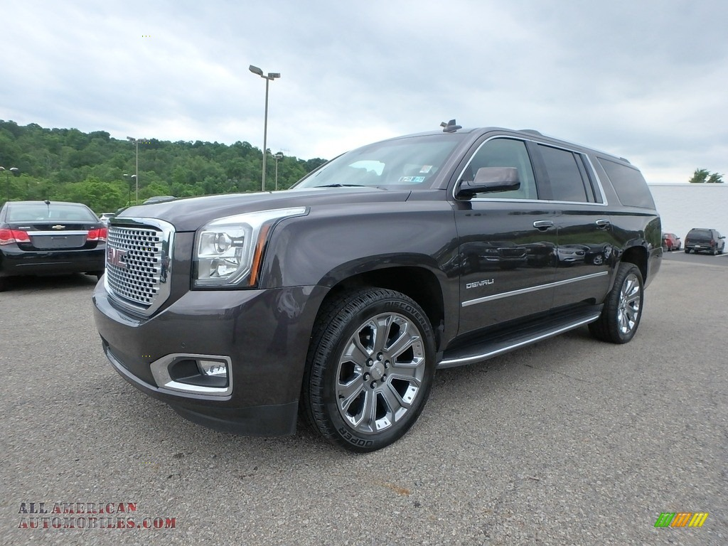 2016 Yukon XL Denali 4WD - Iridium Metallic / Cocoa/Shale photo #1