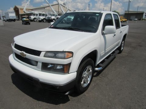 Summit White 2010 Chevrolet Colorado LT Crew Cab