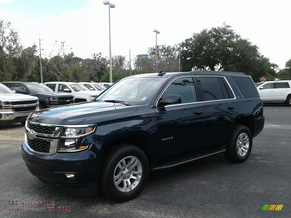 Blue Velvet Metallic / Jet Black/Ash Gray Chevrolet Tahoe LT