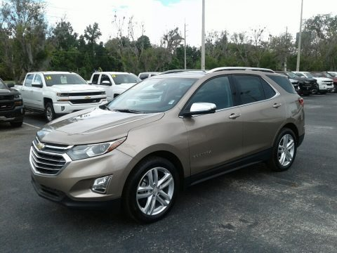 Sandy Ridge Metallic 2018 Chevrolet Equinox Premier