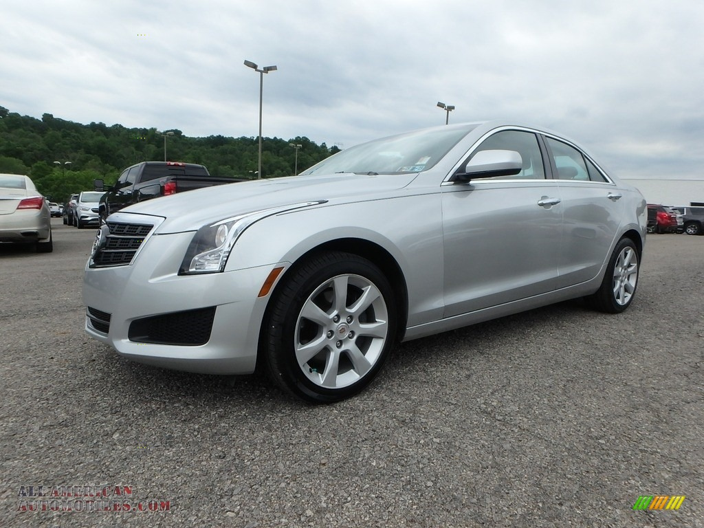 2013 ATS 2.0L Turbo AWD - Radiant Silver Metallic / Jet Black/Jet Black Accents photo #1