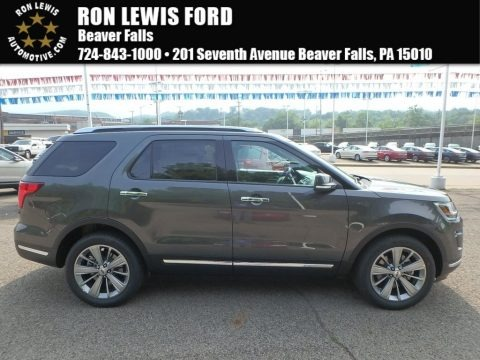 Magnetic Metallic 2018 Ford Explorer Limited 4WD