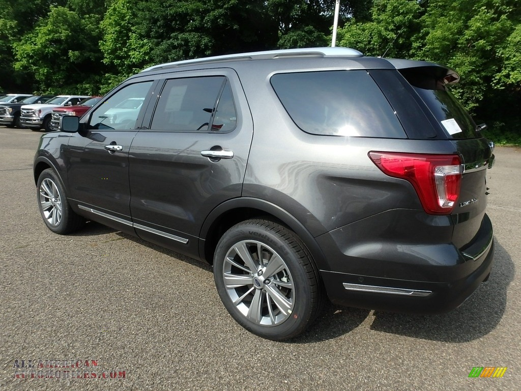 2018 Explorer Limited 4WD - Magnetic Metallic / Ebony Black photo #5