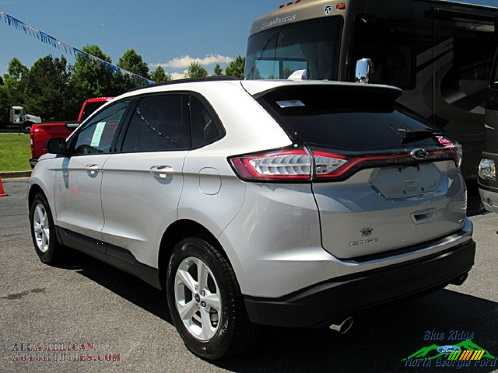 2018 Edge SE AWD - Ingot Silver / Ebony photo #3
