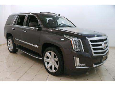 Dark Granite Metallic 2015 Cadillac Escalade Luxury 4WD