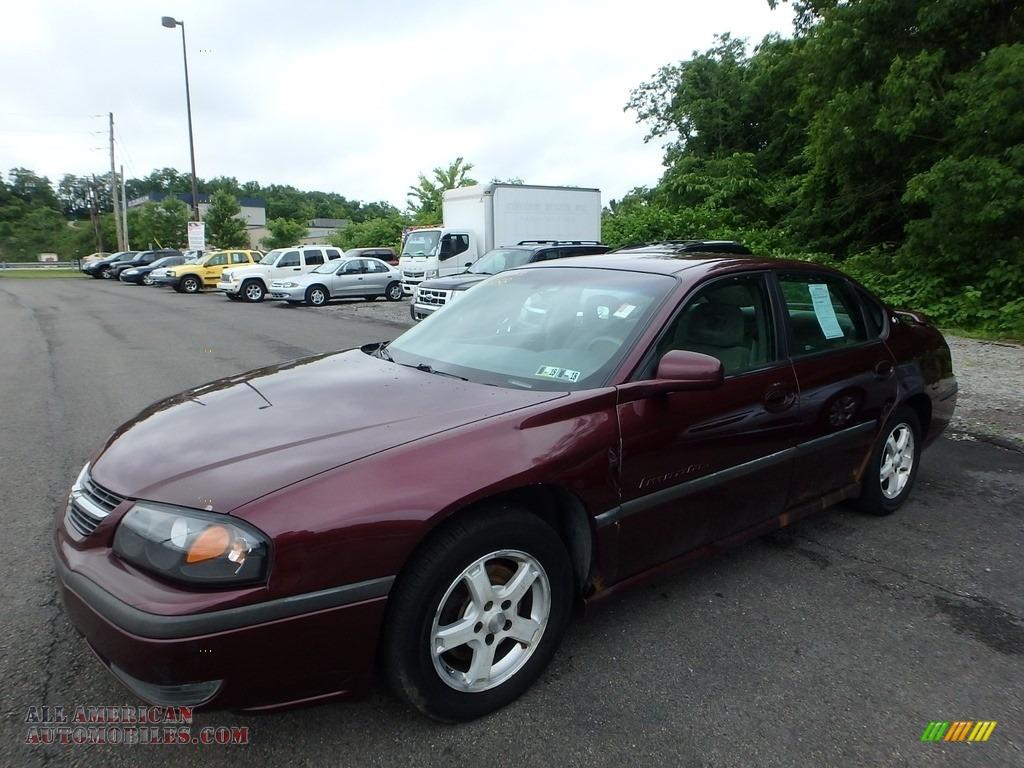 2003 Impala LS - Berry Red Metallic / Medium Gray photo #1