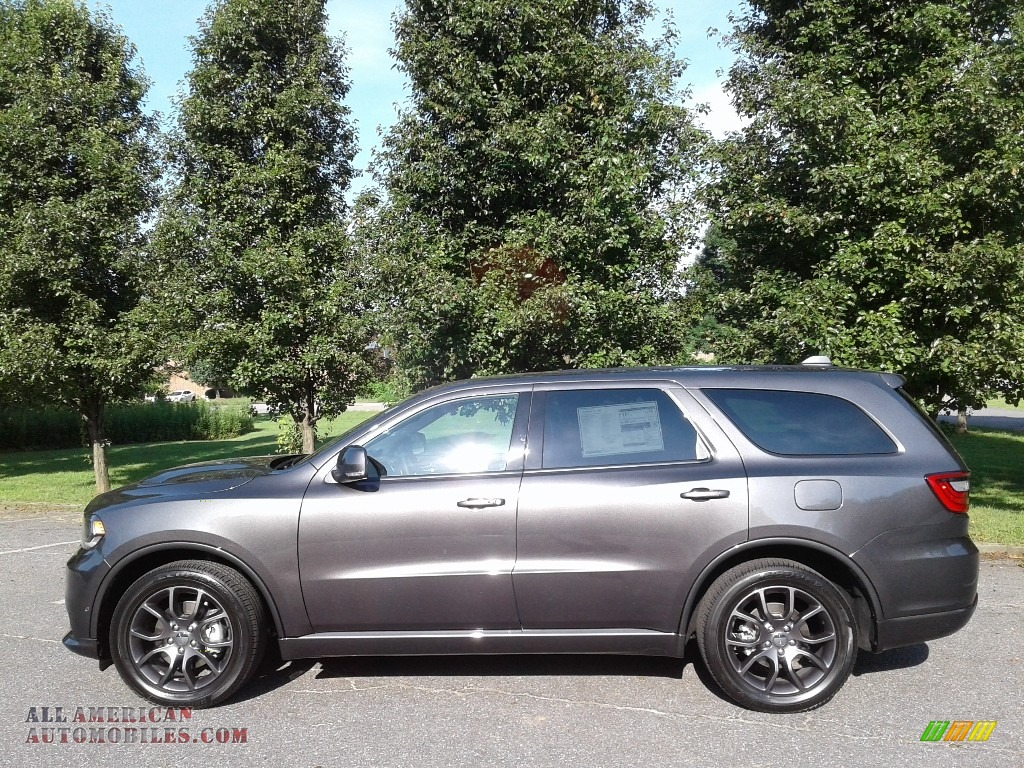 2018 Durango R/T AWD - Granite Metallic / Black photo #1