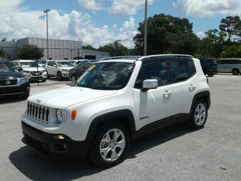 Alpine White 2018 Jeep Renegade Limited