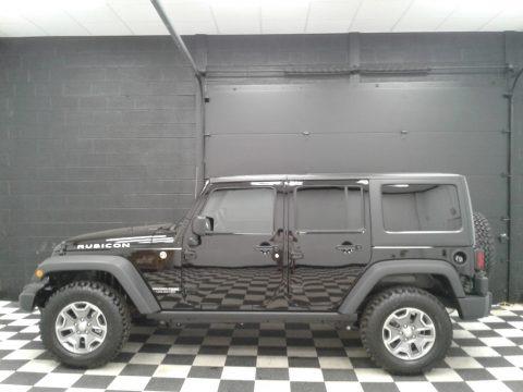 Black 2018 Jeep Wrangler Unlimited Rubicon 4x4