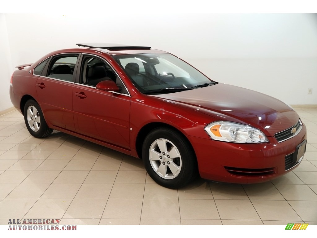 2008 Impala LT - Red Jewel Tintcoat / Ebony Black photo #1