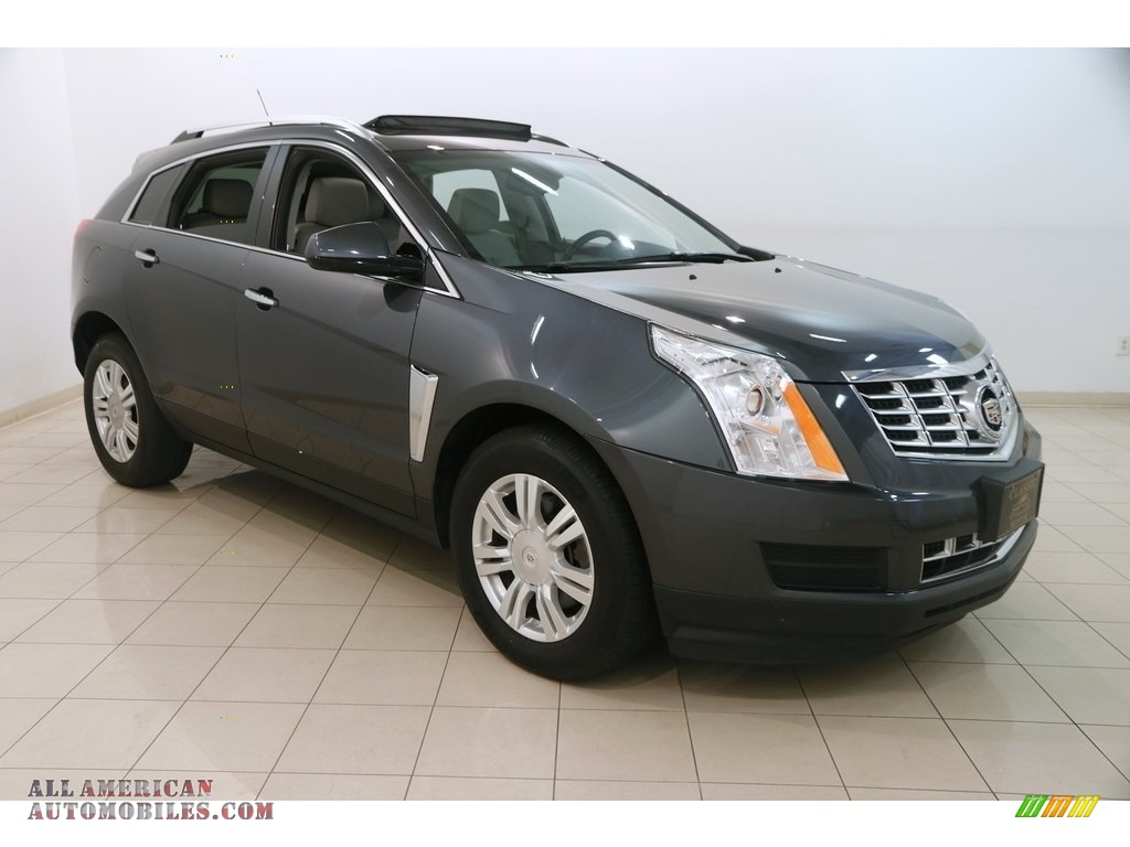 2013 SRX Luxury FWD - Gray Flannel Metallic / Light Titanium/Ebony photo #1