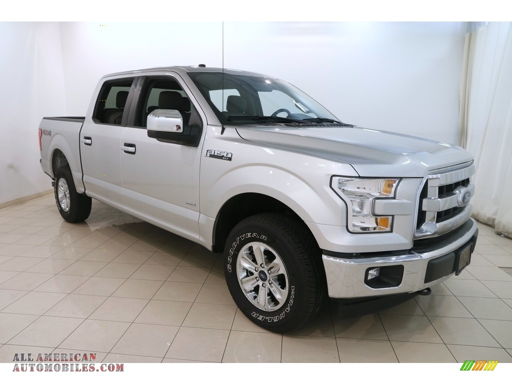 2017 F150 XLT SuperCrew 4x4 - Ingot Silver / Earth Gray photo #1