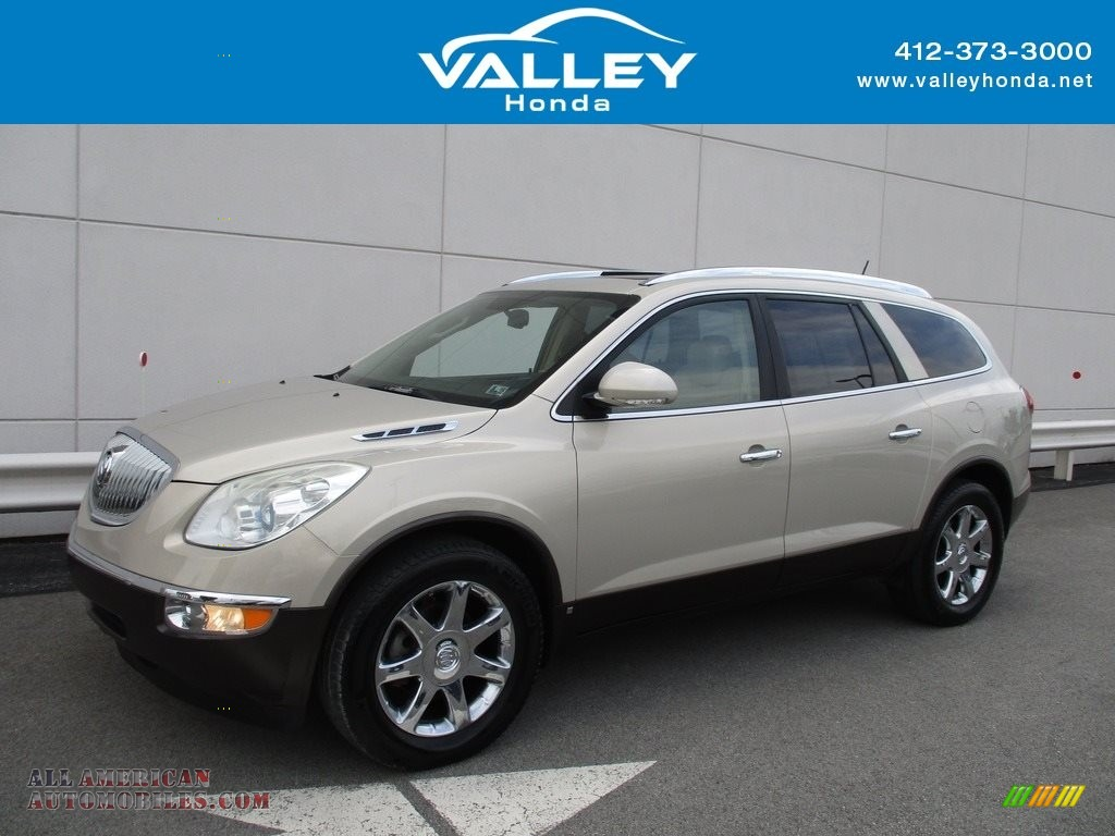 Gold Mist Metallic / Cashmere/Cocoa Buick Enclave CXL AWD