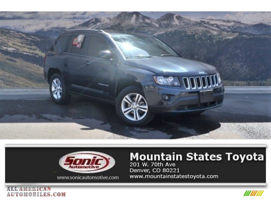 2014 Compass Sport 4x4 - Maximum Steel Metallic / Dark Slate Gray/Light Pebble photo #1