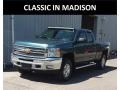 Chevrolet Silverado 1500 LT Extended Cab 4x4 Blue Granite Metallic photo #1