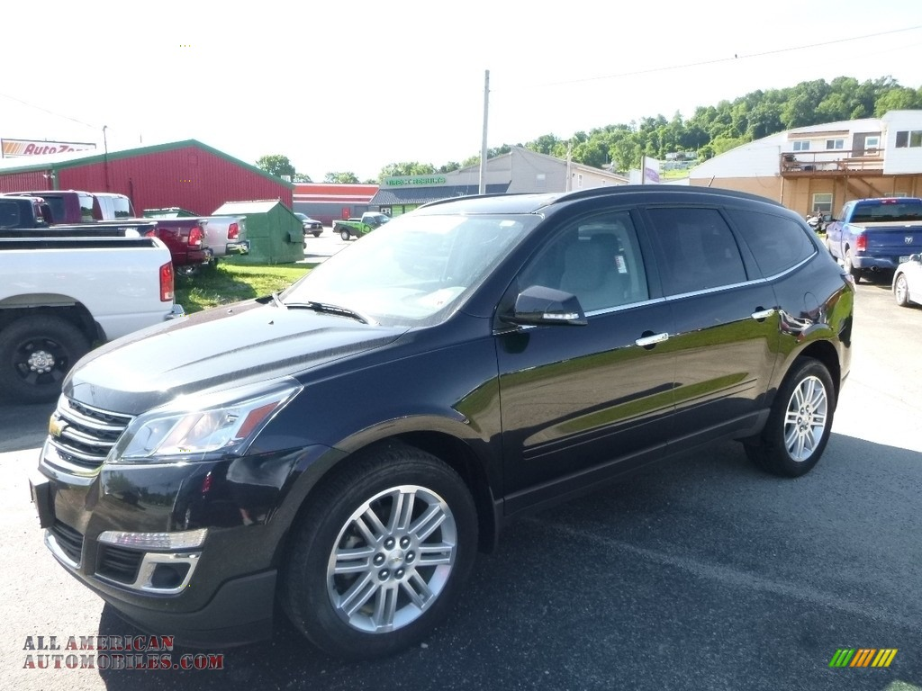 Black Granite Metallic / Ebony Chevrolet Traverse LT AWD