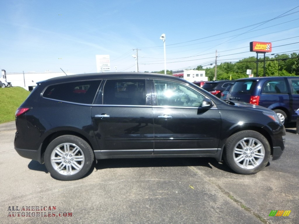 2015 Traverse LT AWD - Black Granite Metallic / Ebony photo #6