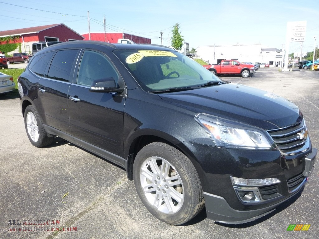 2015 Traverse LT AWD - Black Granite Metallic / Ebony photo #7