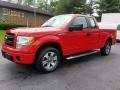Ford F150 STX SuperCab Race Red photo #2