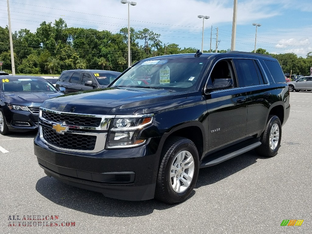 2018 Tahoe LT - Black / Jet Black photo #1
