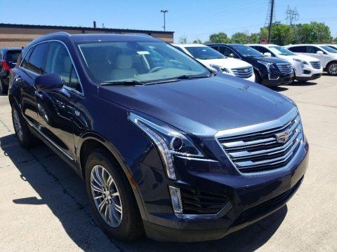 Harbor Blue Metallic 2018 Cadillac XT5 Luxury AWD
