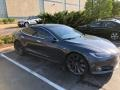 Tesla Model S P100D Midnight Silver Metallic photo #13