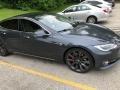 Tesla Model S P100D Midnight Silver Metallic photo #14