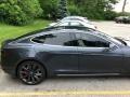 Tesla Model S P100D Midnight Silver Metallic photo #16