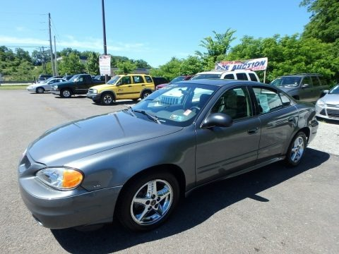 Greystone Metallic 2004 Pontiac Grand Am SE Sedan