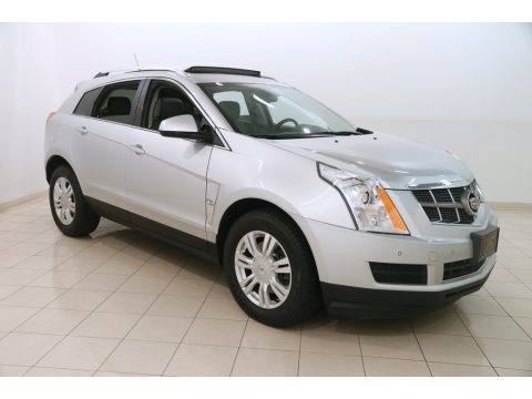 Radiant Silver Metallic 2012 Cadillac SRX Luxury