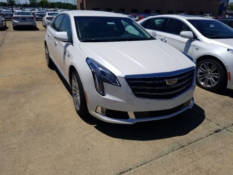 Crystal White Tricoat 2018 Cadillac XTS Luxury AWD