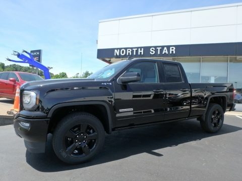 2018 gmc sierra 1500 elevation double cab 4wd in onyx black for sale 367754 all american. Black Bedroom Furniture Sets. Home Design Ideas