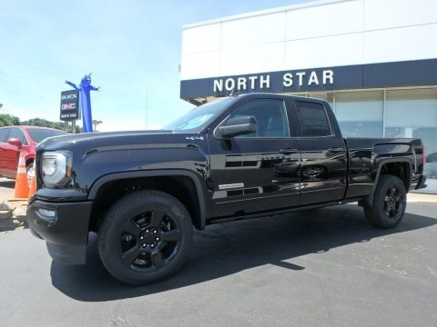 2018 gmc sierra 1500 elevation double cab 4wd in onyx black for sale 367530 all american. Black Bedroom Furniture Sets. Home Design Ideas