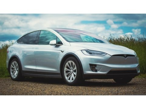 Silver Metallic 2017 Tesla Model X 75D