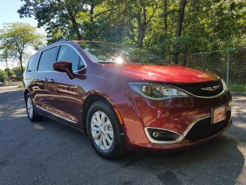 Velvet Red Pearl 2017 Chrysler Pacifica Touring L