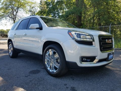 Summit White 2017 GMC Acadia Limited AWD