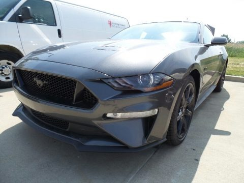 Magnetic 2018 Ford Mustang GT Fastback