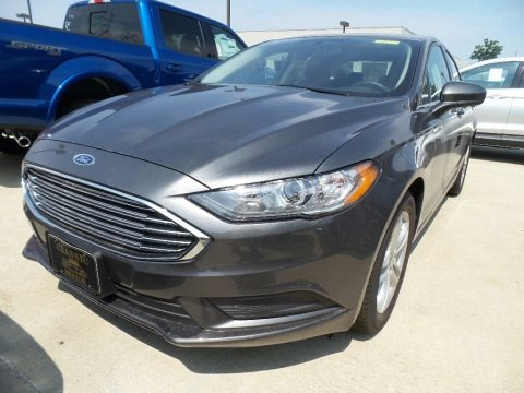Magnetic 2018 Ford Fusion SE