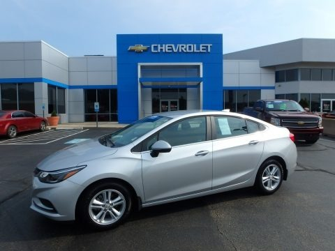 Silver Ice Metallic 2017 Chevrolet Cruze LT