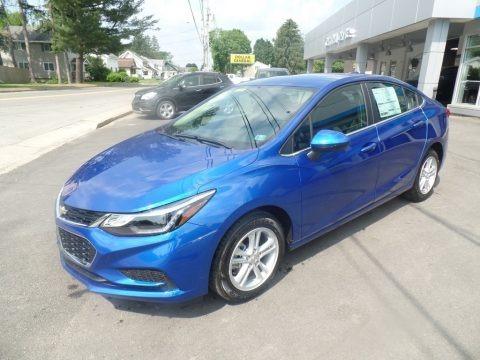 Kinetic Blue Metallic 2018 Chevrolet Cruze LT