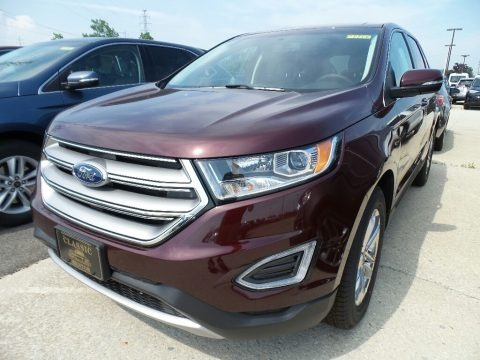 Burgundy Velvet 2018 Ford Edge SEL AWD