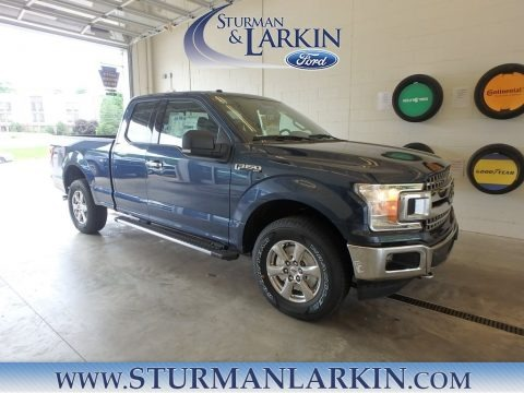 Blue Jeans 2018 Ford F150 XLT SuperCab 4x4