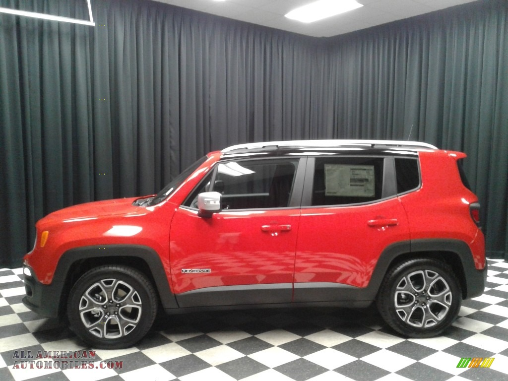 2018 jeep renegade limited in colorado red for sale for Steve white motors inc