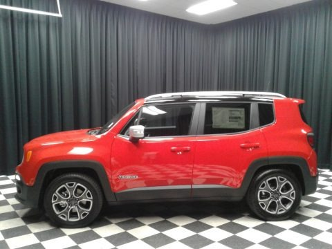 Colorado Red 2018 Jeep Renegade Limited