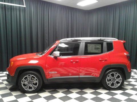 Colorado Red 2018 Jeep Renegade Limited