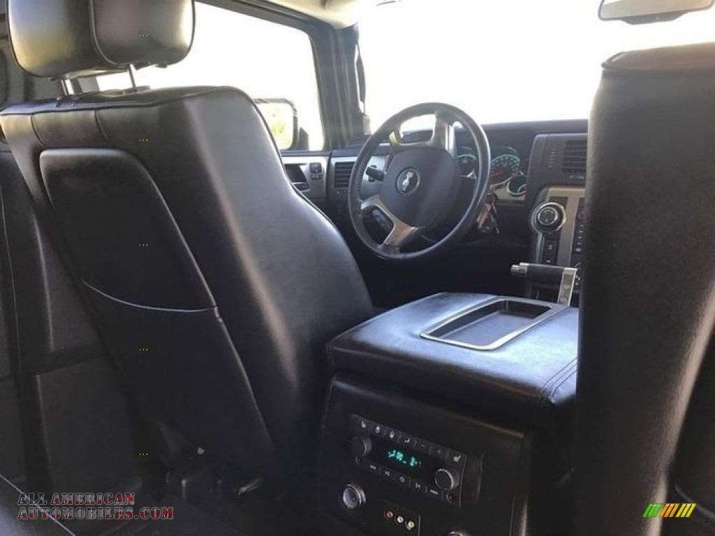 2009 H2 SUV - Graystone Metallic / Ebony Black photo #4