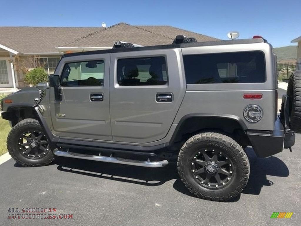 2009 H2 SUV - Graystone Metallic / Ebony Black photo #17
