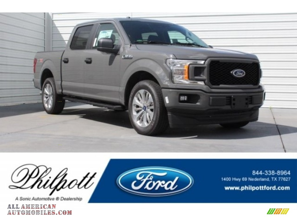 2018 F150 XL SuperCrew - Lead Foot / Earth Gray photo #1