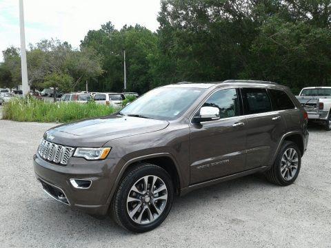 Walnut Brown Metallic 2018 Jeep Grand Cherokee Overland