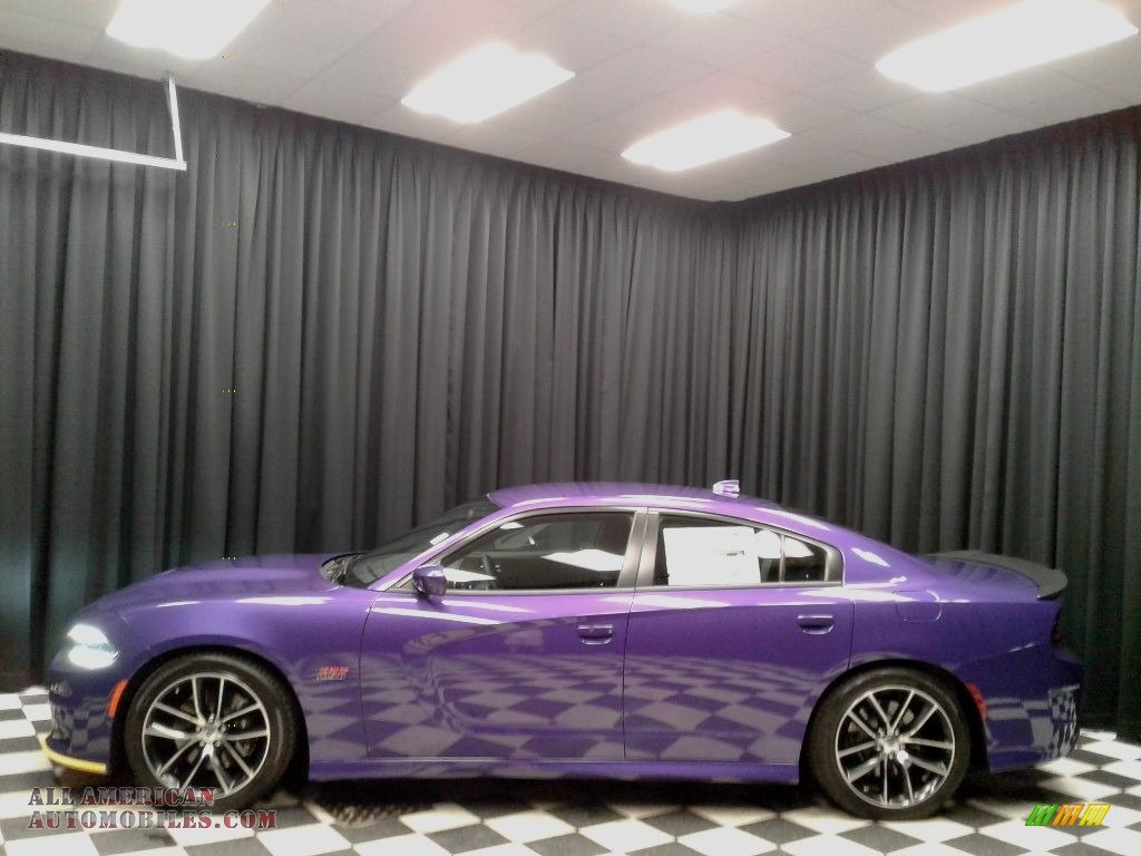 2018 dodge charger r t scat pack in plum crazy pearl for for Steve white motors inc